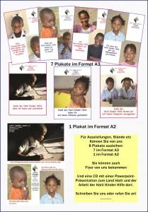 Palakte der Haiti Kinder Hilfe zum Ausleihen