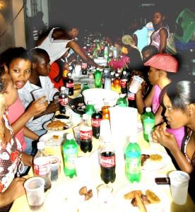 Festessen in Heim