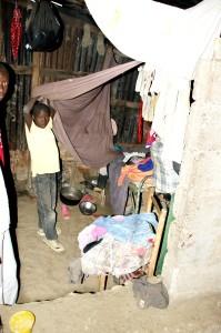 Im Slum von Cap Haitien