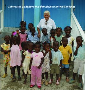 Sr Godelieve + die Kleinen