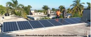 Photovoltaik auf dem Dach