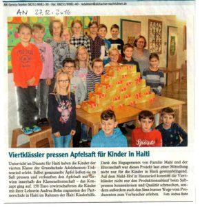 Bericht der Grundschule Adelzhausen